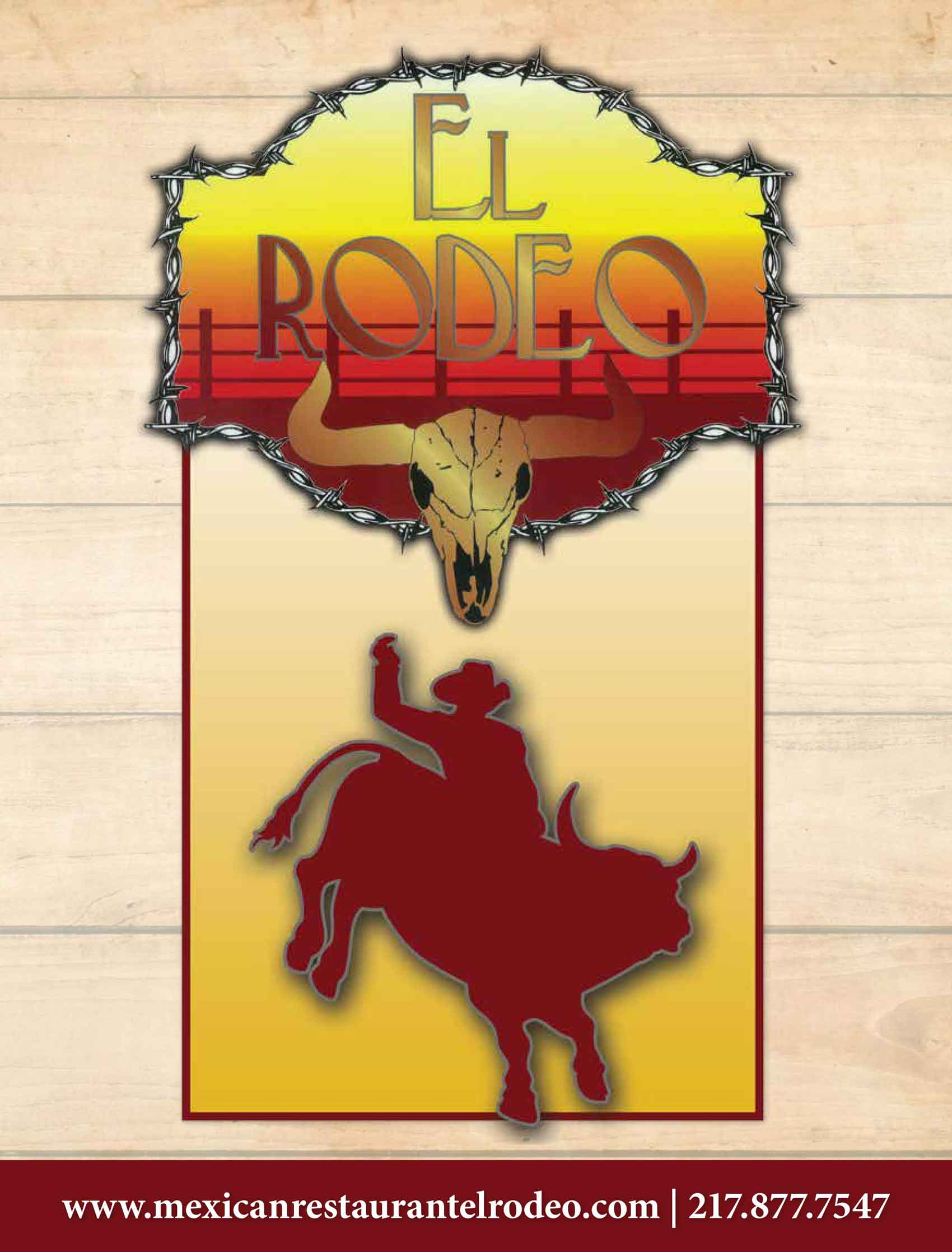 Rodeo Mexican Restaurant Menu